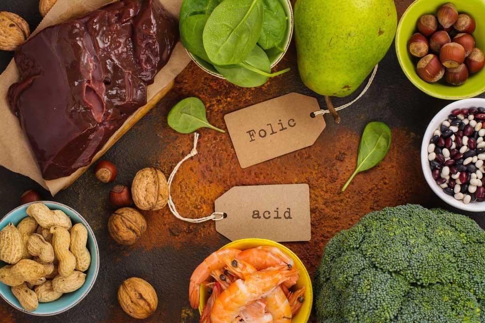 3 Alimentos ricos en ácido fólico