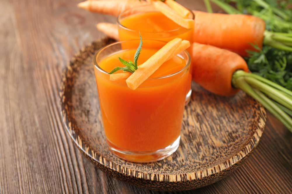 Para qué sirve el jugo de zanahoria
