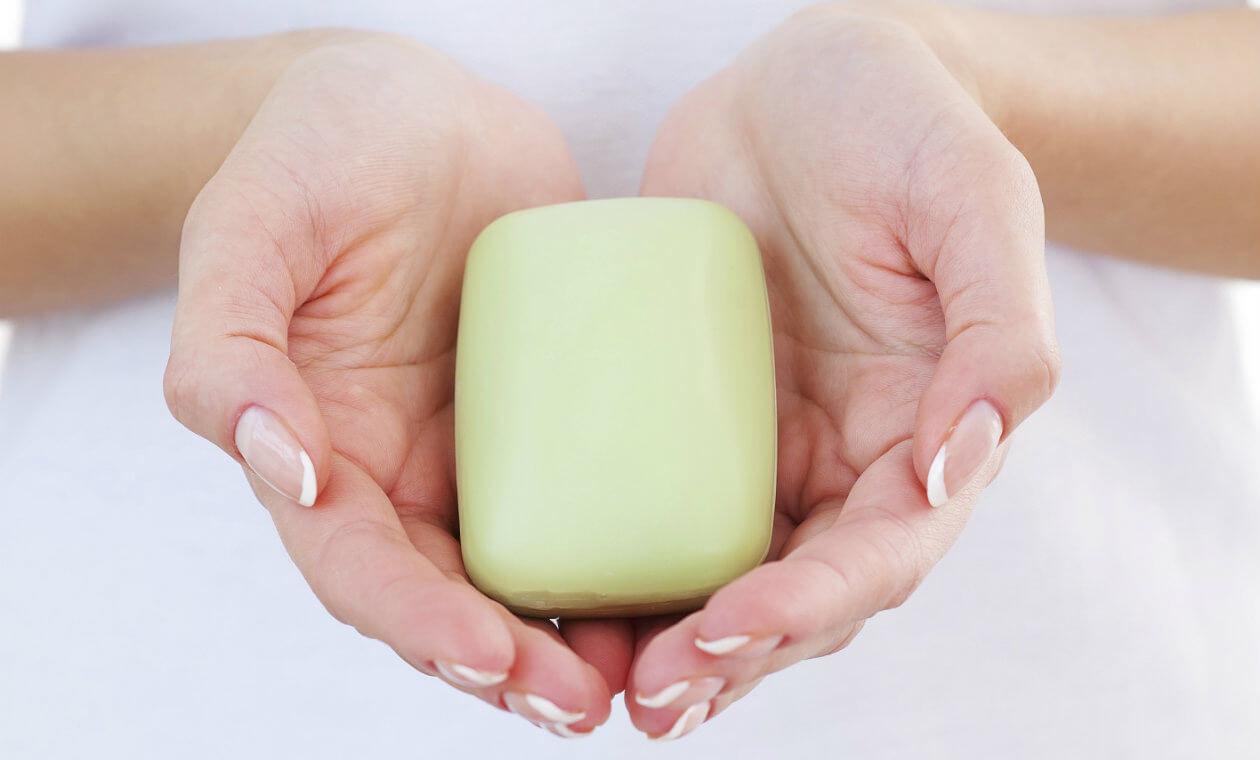 jabón para genitales
