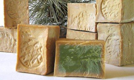 beneficios del jabón de alepo